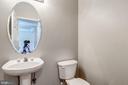 half bath on main floor - 43214 SOMERSET HILLS TER, ASHBURN