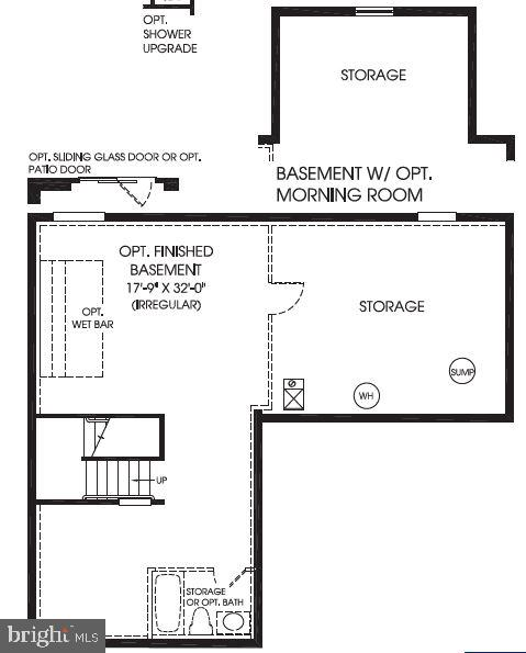 Lower Level Floor Plan - 20 EISENTOWN DR, LOVETTSVILLE