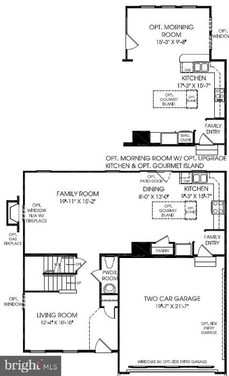Main Level Floor Plan - 20 EISENTOWN DR, LOVETTSVILLE