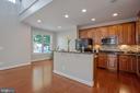 Spacious view of the gourmet kitchen - 42461 TOURMALINE LN, BRAMBLETON