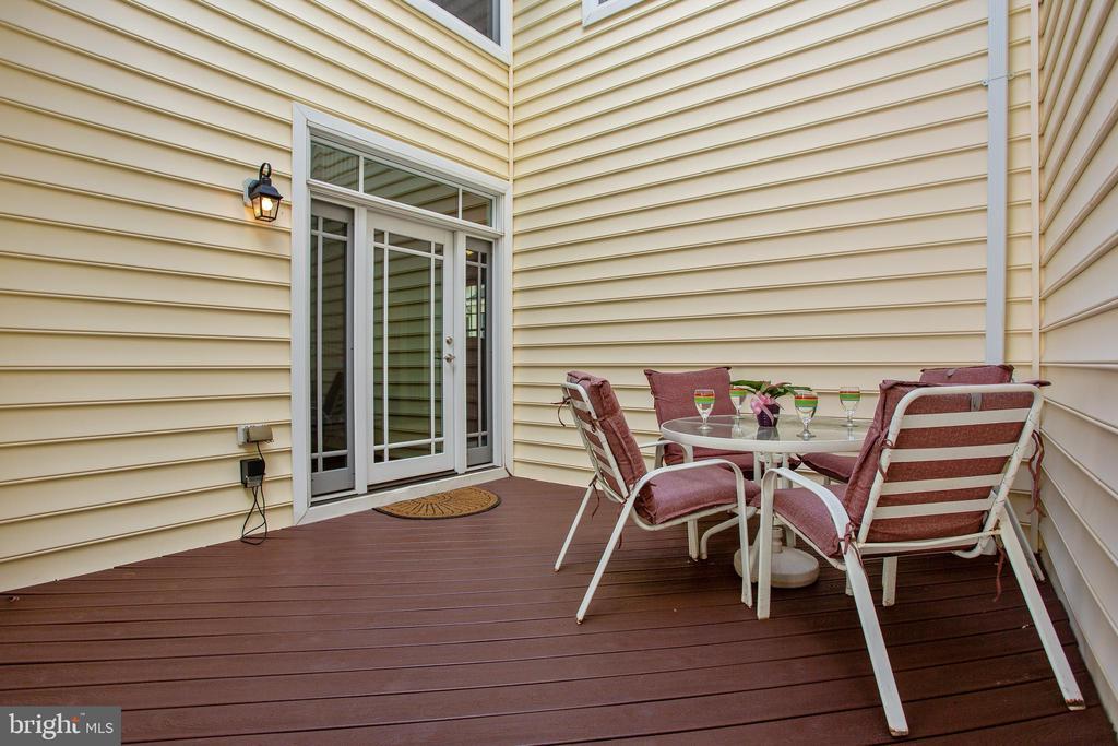 Backyard view 1 - 42461 TOURMALINE LN, BRAMBLETON