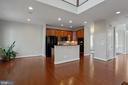 Gourmet Kitchen breakfast room - 42461 TOURMALINE LN, BRAMBLETON