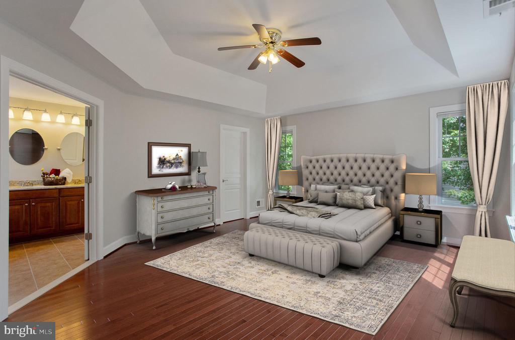 Master bedroom - 42461 TOURMALINE LN, BRAMBLETON