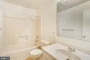 Full bath #2 - 108 GALAXIE DR, FREDERICKSBURG