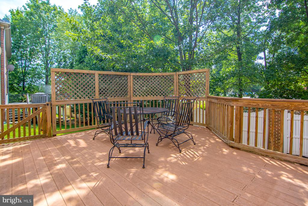 Lovely deck, west exposure - 2374 JAWED PL, VIENNA
