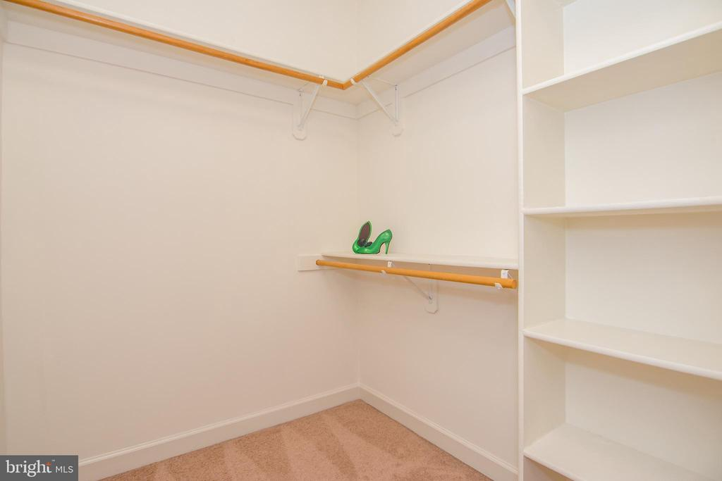 1 of 2 large closets in master bedroom - 2374 JAWED PL, VIENNA