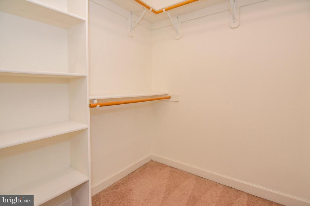 2 of 2 large closets in master bedroom - 2374 JAWED PL, VIENNA