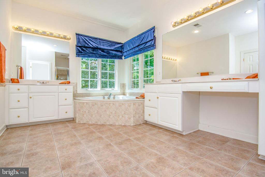 Comfortable, private, relaxing master bathroom - 2374 JAWED PL, VIENNA