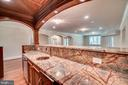 Beautiful granite in 2nd kitchen downstairs - 10120 COUNSELMAN RD, POTOMAC