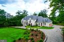 Private, treed, homesite with Circular driveway - 10120 COUNSELMAN RD, POTOMAC