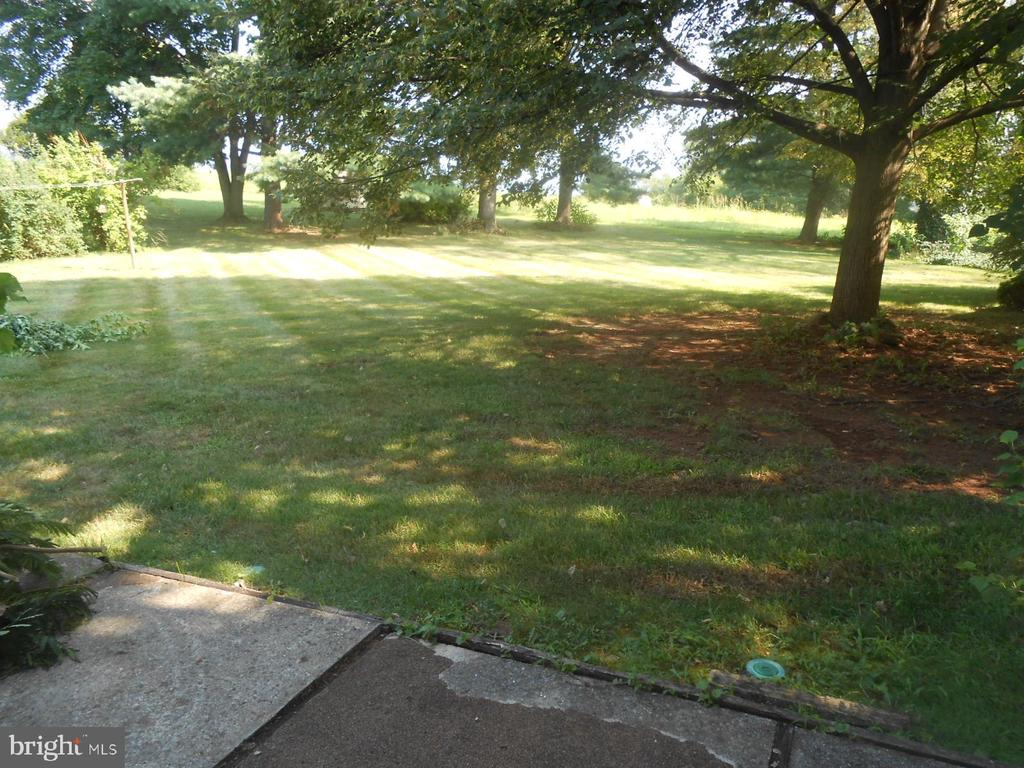 Large  yard, backs to open farmland - 11228 ANGLEBERGER RD, THURMONT