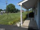 view from front porch - 11228 ANGLEBERGER RD, THURMONT