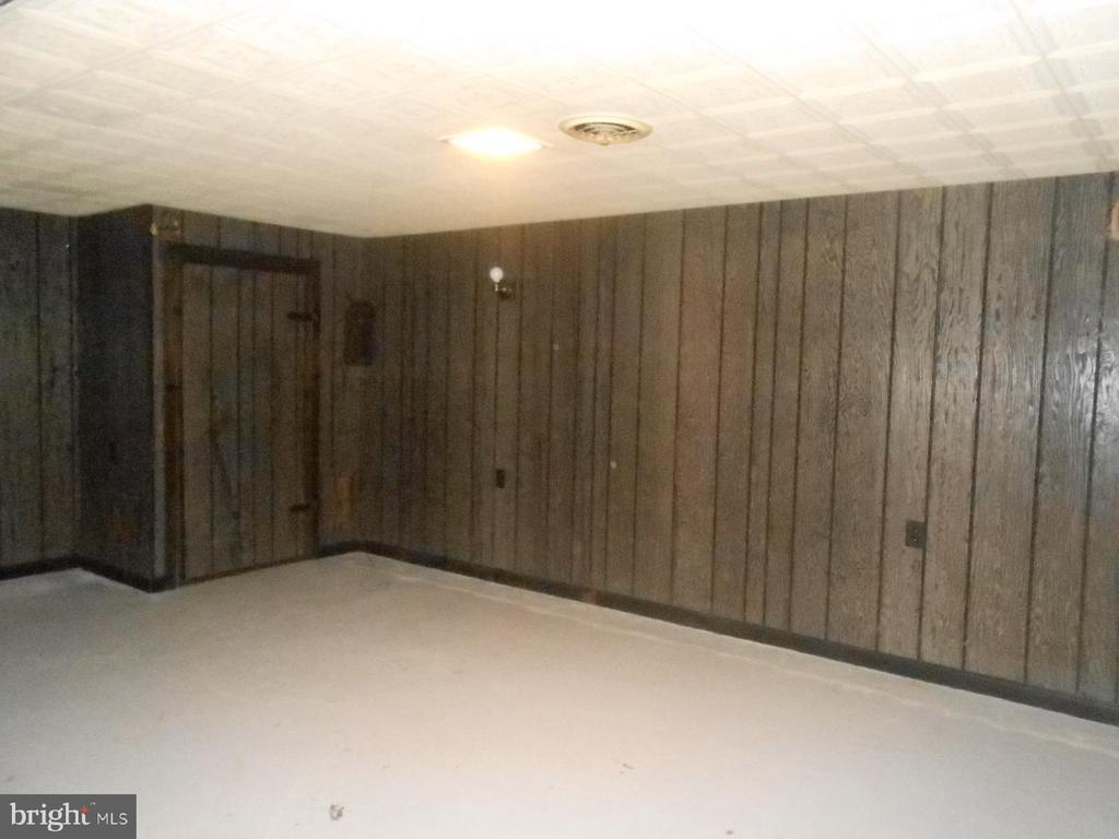 finished side of basement - 11228 ANGLEBERGER RD, THURMONT