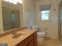 full hall bath - recently updated - 11228 ANGLEBERGER RD, THURMONT