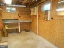 workshop area if unfinished basement - 11228 ANGLEBERGER RD, THURMONT