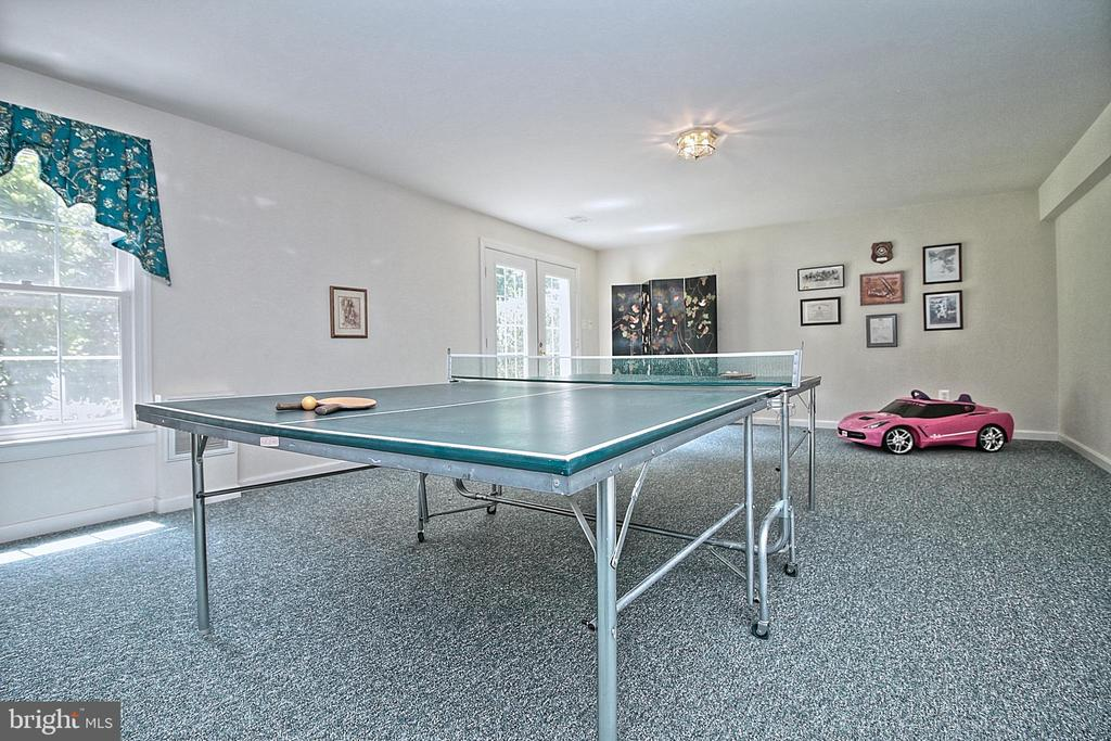Ping Pong Table Stays! - 10121 COMMUNITY LN, FAIRFAX STATION