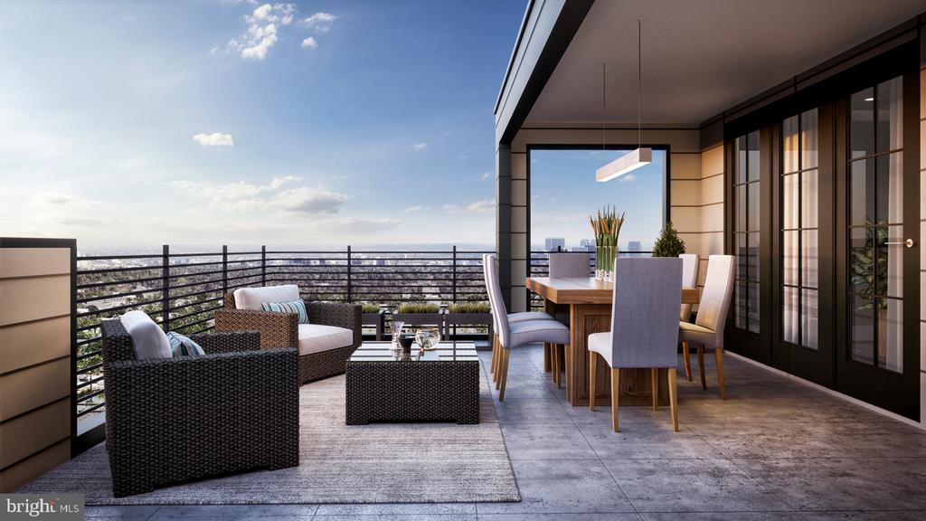 Wiehle  Roof Top Terrance - 1960 ROLAND CLARKE PL, RESTON