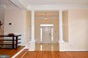 Gracious large marble floor foyer - 1850 BRENTHILL WAY, VIENNA
