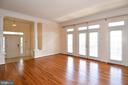 Bright floor to ceiling french doors - 1850 BRENTHILL WAY, VIENNA