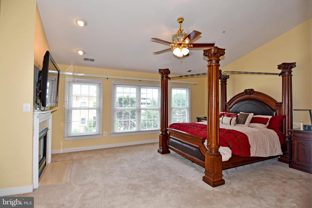 Elegant, oh so elegant master bedroom. - 1850 BRENTHILL WAY, VIENNA