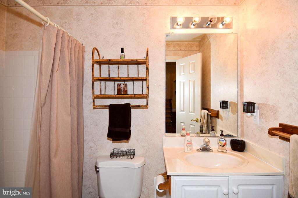 Lower Level  full bath - 1850 BRENTHILL WAY, VIENNA