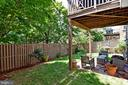 Spacious Backyard - 1850 BRENTHILL WAY, VIENNA