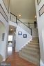Grand Foyer with flared staircase - 16901 EVENING STAR DR, ROUND HILL
