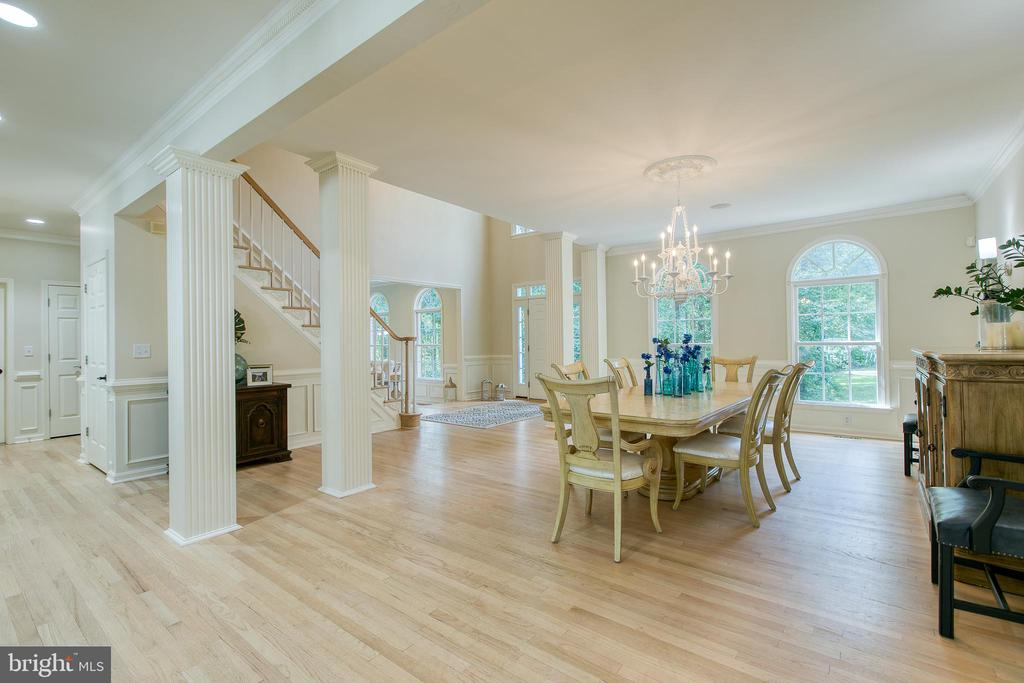 Formal dining- - 27 MERIDAN LN, STAFFORD