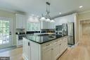 Refinished custom cabinets - 27 MERIDAN LN, STAFFORD