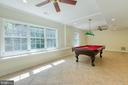 Lower level game room-NATURAL LIGHT!! - 27 MERIDAN LN, STAFFORD