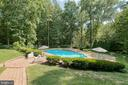 Pathway to your private pool - 27 MERIDAN LN, STAFFORD