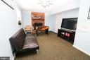 Basement Living room - 6024 MASSAPONAX DR, FREDERICKSBURG