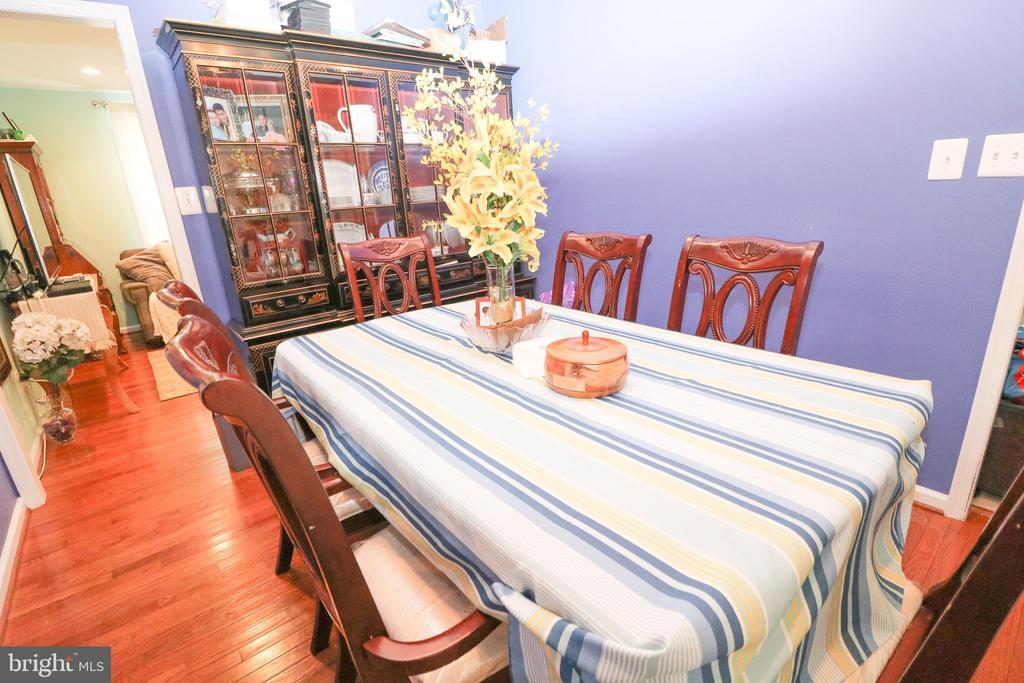 Dining Room - 6024 MASSAPONAX DR, FREDERICKSBURG