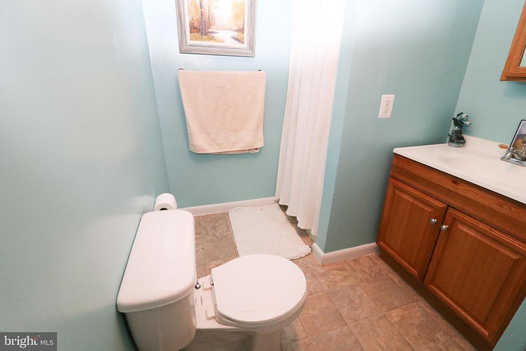 Basement Bathroom - 6024 MASSAPONAX DR, FREDERICKSBURG
