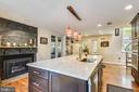 Updated kitchen! - 9919 MACARTHUR BLVD, BETHESDA