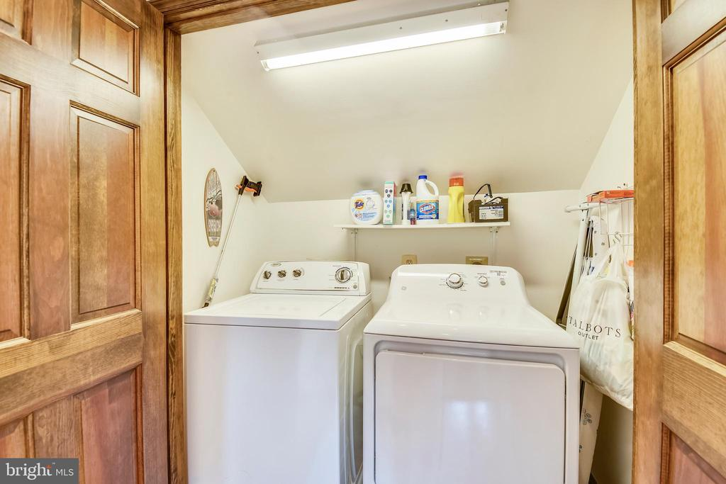 Washer & Dryer closet! - 9919 MACARTHUR BLVD, BETHESDA