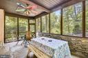 Screened porch! - 9919 MACARTHUR BLVD, BETHESDA