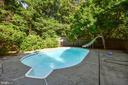 Private backyard space - 8907 CHRISTINE PL, MANASSAS