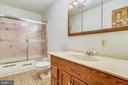Full bathroom in hallway - 8907 CHRISTINE PL, MANASSAS