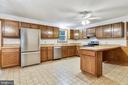 Kitchen with new windows/new stainless appliances - 8907 CHRISTINE PL, MANASSAS