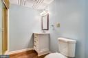 Full bathroom in basement - 8907 CHRISTINE PL, MANASSAS