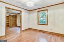 2nd bedroom is a two room suite w new windows - 8907 CHRISTINE PL, MANASSAS