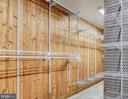 Cedar walk in closet in master - 8907 CHRISTINE PL, MANASSAS