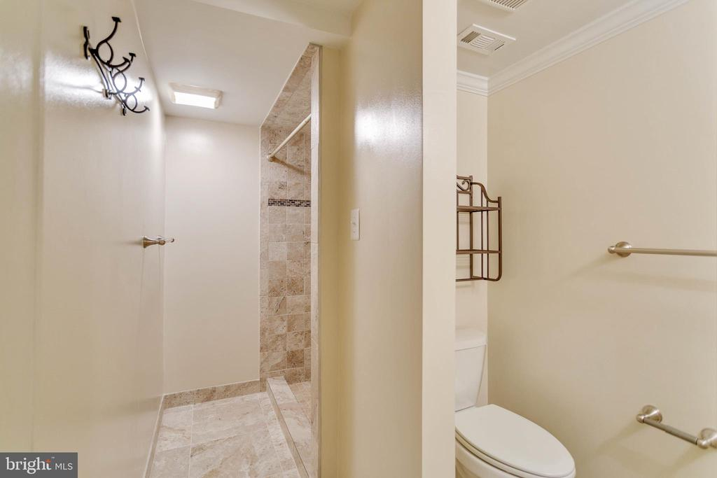 Lower Level Full Bath - 3324 BRECKENRIDGE CT, ANNANDALE