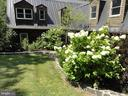 Back yard landscaping - 38699 OLD WHEATLAND RD, WATERFORD