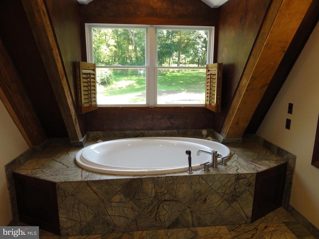 Master bath soaking tub - 38699 OLD WHEATLAND RD, WATERFORD
