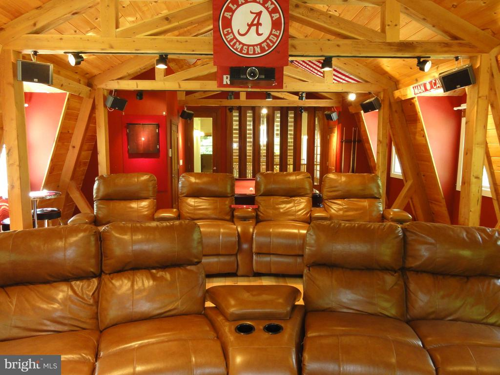 Game/ Theater room - 38699 OLD WHEATLAND RD, WATERFORD