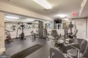 Gym across street from home in clubhouse - 8861 ASHGROVE HOUSE LN, VIENNA