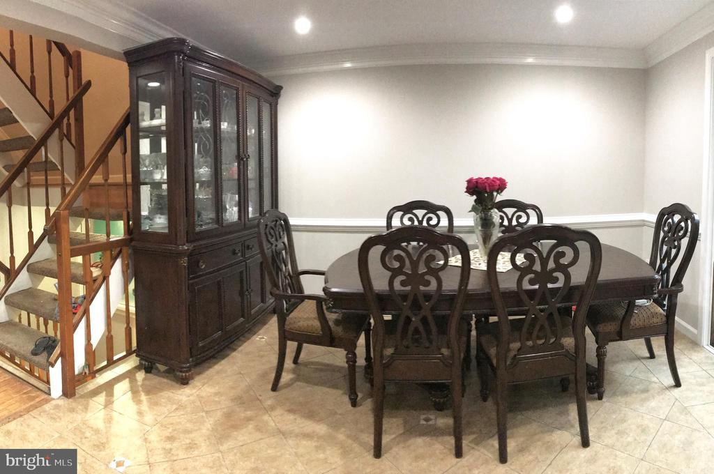 Dinning room - 17539 AMITY DR, GAITHERSBURG
