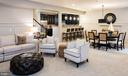 Rec Room with view of wet bar & fireplace - 40999 SPANGLEGRASS CT, ALDIE